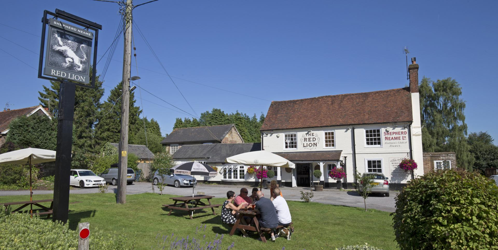 Red Lion - Chelwood - Exterior